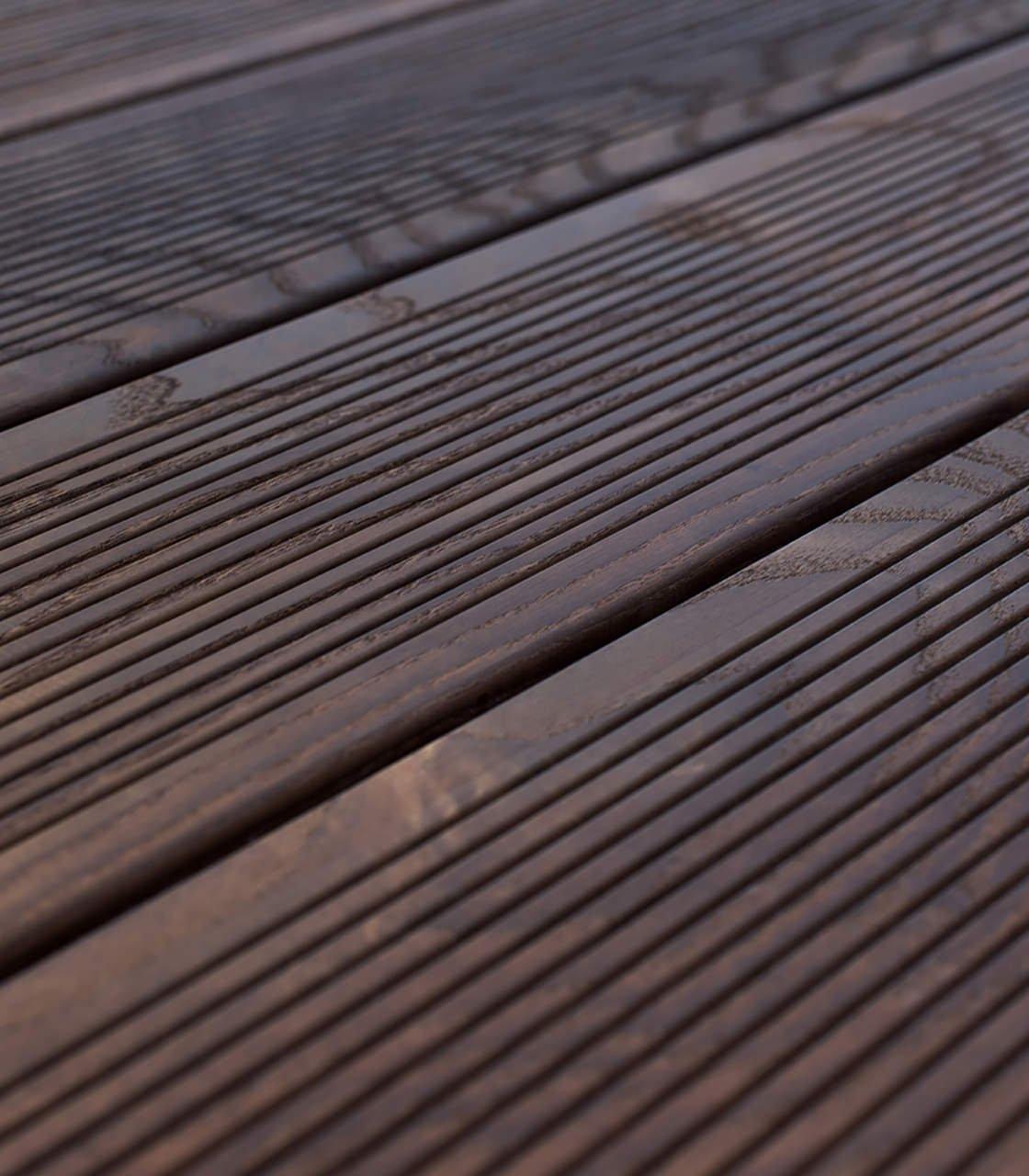 Террасная доска термодерево Arbofari Ash thermo 4